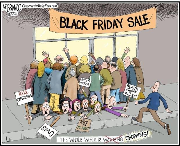 Black Friday là đại diện cho Chủ nghĩa Tư bản.