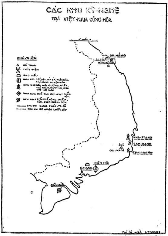 Các khu công nghiệp tại Việt Nam Cộng Hòa.