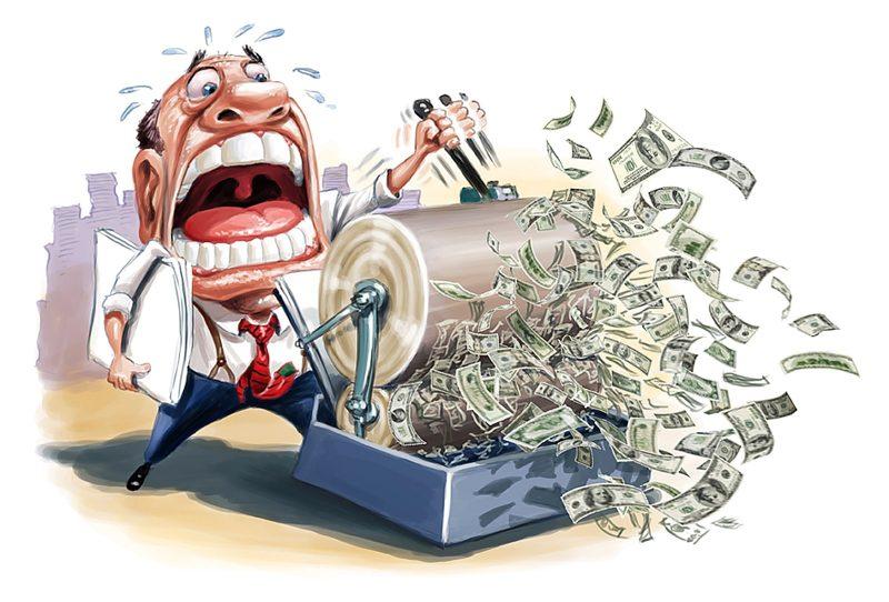 In tiền, lạm phát và trò lừa tăng trưởng GDP